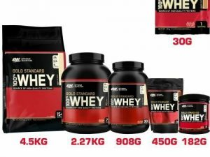 Protéine de lactosérum Gold Standard