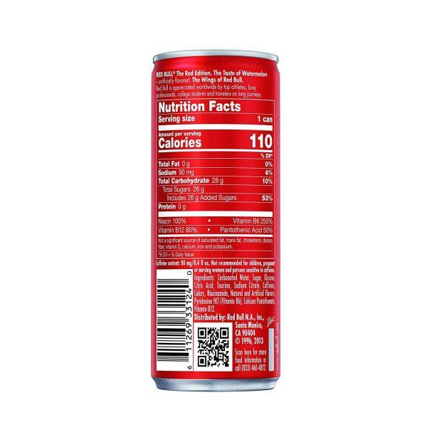 Red Bull Watermelon Energy Drink